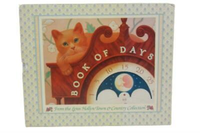1985 Lynn Hollyn's Country Collection Book of Days Slip Cover Hard Cover Cats