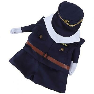 Polyester Cute Pet Halloween Clothes Upright Costume Dress Up For Cats Dogs(Poli