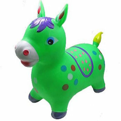 PURPLE UNICORN// RED HORSE Hopper Ride On Bouncing inflatable Bouncy BOUNCE ALONG