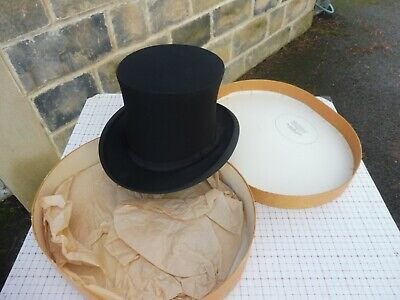 The Cork Hat Company London New Or Used Vintage Collapsible Opera Top Hat 32 00 Picclick Uk