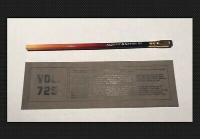 George Floyd MLK Quote Full box 12 Limited Edition Blackwing Pencils RARE 846 WW