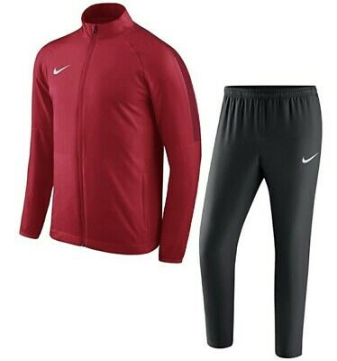 Nike Junior Academy Tracksuit RED DRI-FIT Youth Unisex  Football Years 9-10 M