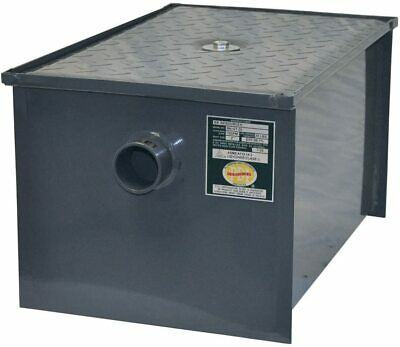 NEW! BK Resources BK-GT-50 Grease Trap, 50 lb. Capacity