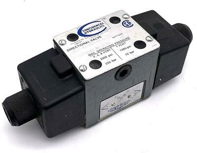 Continental VS12M-3A-GS3-60L-H Directional Valve 110/120 VAC 45 Watts