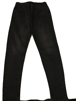 Boys George Black Skinny Jeans Age 11-12 Years