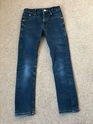 Great Mini Boden navy jeans with green detailing 9 yrs