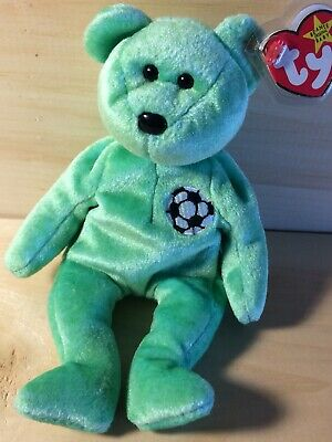 """Mint Condition! Details about  /TY Vintage Beanie Baby Bear /""""THE END/"""" 1999"""