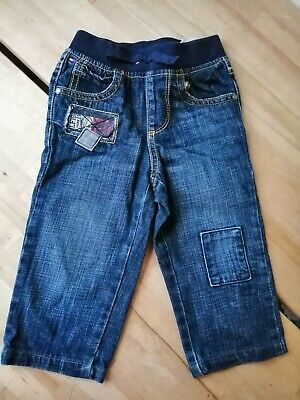 Tommy Hilfiger Boys Toddlers Blue Denim Jeans Trousers 2-3 years 2T VGC