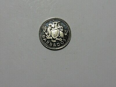 Barbados Coin - 1973 10 Cents - Proof