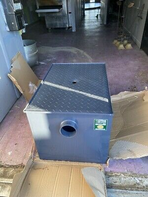 Commercial Grease Trap, BK Resources BK-GT-40, Capacity 40 lb.