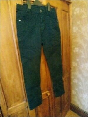 Boys Florence And Fred Black Jeans, Age 12-13 Years, Ex Cond