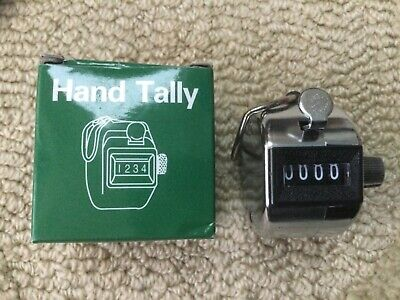 Hand tally counter. New.