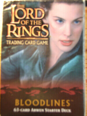 Starter Bloodlines Arwen Open Vo Lord Of The Rings Tcg