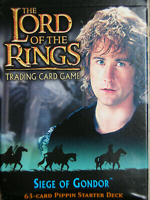 Starter Siege Of Gondor Pippin Vo Lord Of The Rings Tcg