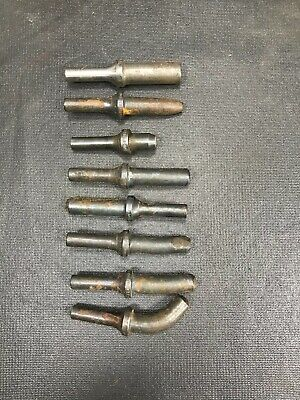 8 Assorted Short Straight And Curved Rivet Sets At101A-3-3/16  * At106A-3-3/32