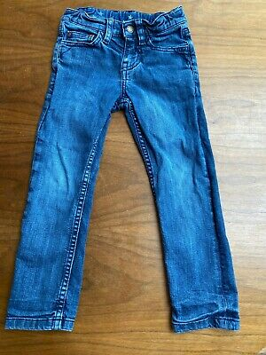 Used - Boys Blue Frugi jeans age 4 - 5 years - Height 104-110cm