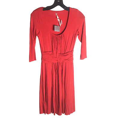 Details about  /NEW Anthropologie Ruched Basketry Dress by Bailey 44  Size SP