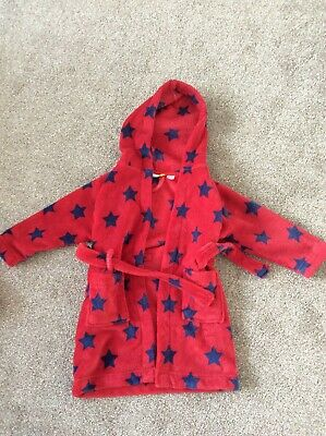 Boys Night Gown - Red - John Lewis - 3 Years - Great Condition