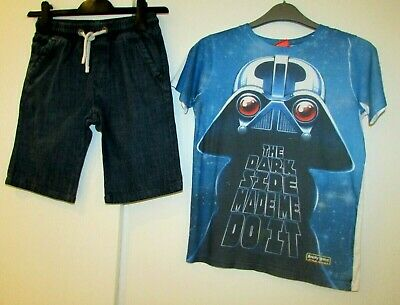 Boys Bundle Age 9-10 Years River Island & Next Star Wars Angry Bird Shorts & T