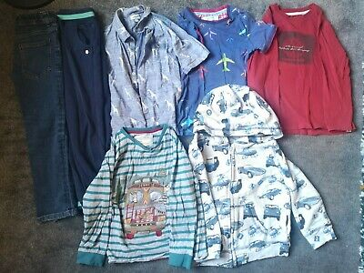 Boys Age 5-6 Bundle Tops Jeans Joggers Hoodie Next Ted Baker Monsoon Timberland