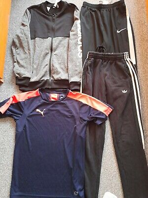 Adidas , Puma , Nike 4 Piece Boys Sportswear Clothing Bundle Age 13-14 Years