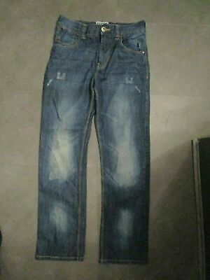 boys boy age 13 years jeans blue next worn twice distressed