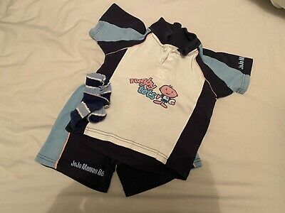 Rugby Tots Top, Shorts and Socks Age 2-3 years