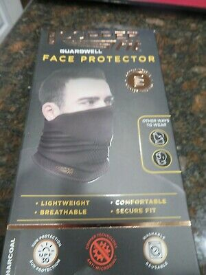 Copper Fit Guardwell Face Protectors ,Reusable Lightweight Breathable Mask - New