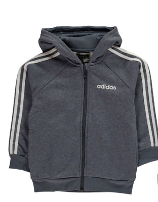 Adidas Kids 3-Stripes Tracksuit Jacket Tech Ink UK Size 9-10 Years *REF131