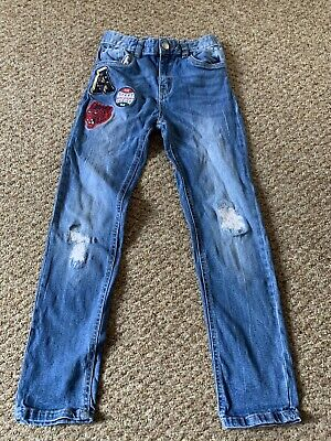 Boys Blue Jeans From Tu Size Age 9 Year