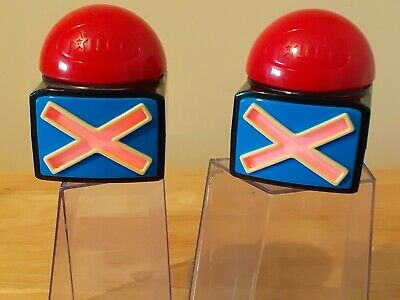 2x Original BGT Britain's Got Talent Buzzers Alarm Button Sound Light. BGT Logo