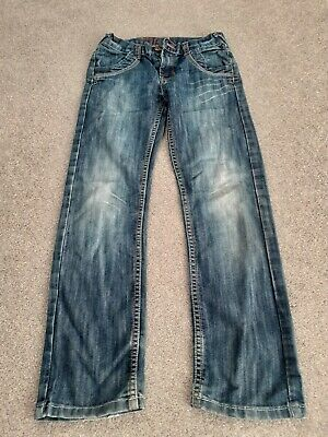 Boys Blue Slim Fit Jeans Aged 9-10 Years From Cherokee