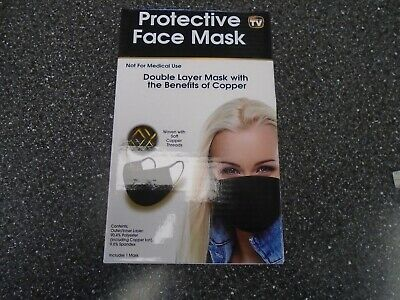 As Seen On Tv Protective Face Mask, Nib,Csm