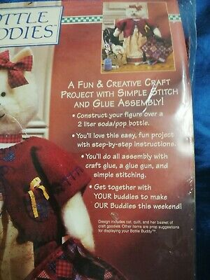 Crafty Kitty contains wool, felt,printed pattern and instructions-package opened