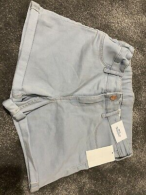 H&M Denim Shorts Age 11-12 Years Brand New With Tags