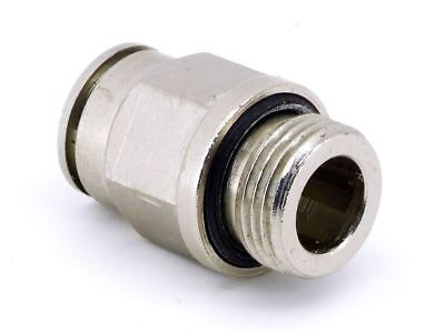 Pneumatic Push-In Ø0 15/32in SW18 Pneumatic Adapter G3/8 Connector Fitting
