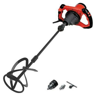 Thin Set Grout and Mortar Power Mixer with Paddle Included Electric Corded 1800W