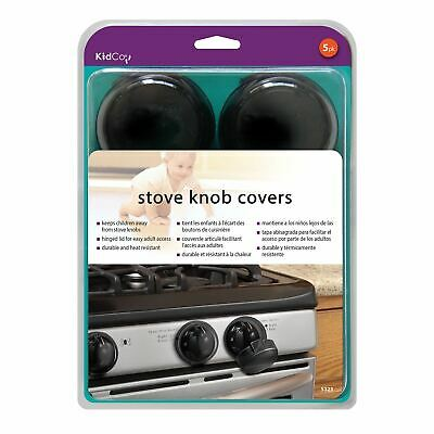 Kidco Stove Knob Covers 5 pack Black