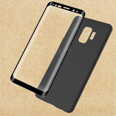 NEW Tempered Glass Screen Protector TPU Case for Cricket Samsung Galaxy S9 G960U