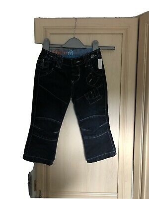 Boys Denim Adjustable Waist Jeans Age 2-3 Years By Superfly