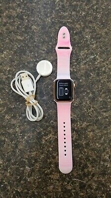 Apple iWatch Series 5 40MM Smart Watch pink W/CHARGER FREE SHIPPING