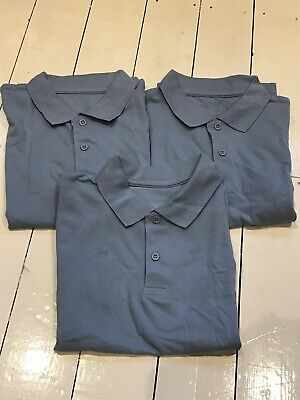 TU Light Blue School Polo Shirts 9 Years