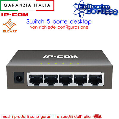 Switch Gigabit 5 Porte Desktop