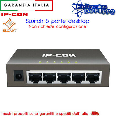 IP-COM F1005P 5-Port Fast Ethernet Desktop Switch