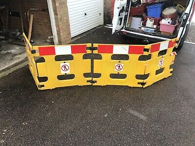 Plastic Safety barriers By Addgards