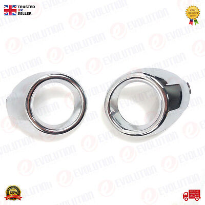Oem Ford Pair Of Right & Left Fog Light Covers For Ford Fiesta 2009 Onwards
