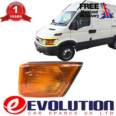 Front Amber Indicator Left Side Fits Iveco Daily 1999-2006, 500320426, 50410465