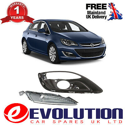 A Pair Of Front Right Bumper Fog Cover & Signal Lamp Cover, 1226161, 1401022