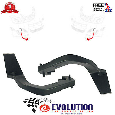 A Pair Of Front Fog Lamp Brackets Fits Vauxhall Corsa Mk3 13345360, 13345361