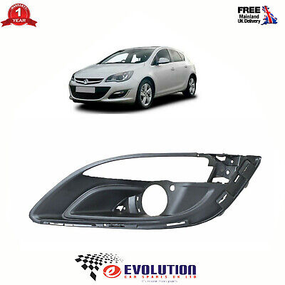 Front Left Bumper Fog Cover Fits Vauxhall Astra Mk6 2012-2015, 1401021